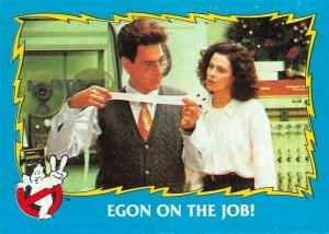 1989 Topps Ghostbusters #12 Egon On The Job!