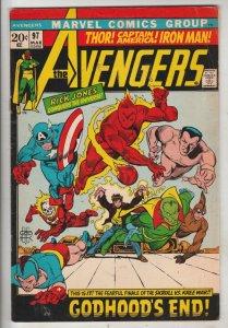 Avengers, The #97 (Mar-72) FN/VF Mid-High-Grade Avengers