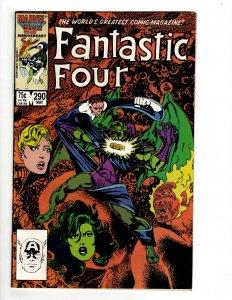 Fantastic Four #290 (1986) J604