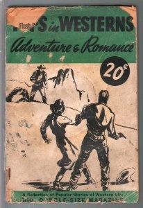 Tops In Western Adventure & Romance 1941-gunfight cover-G-