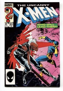 X-MEN #201-1981-MARVEL-First baby CABL NM-