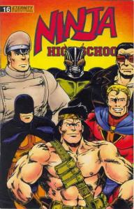 Ninja High School #16 FN; Malibu | save on shipping - details inside