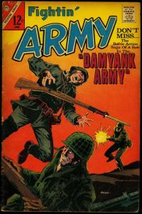 Fightin' Army #74 1967- WWII story- Charlton war Silver Age VG