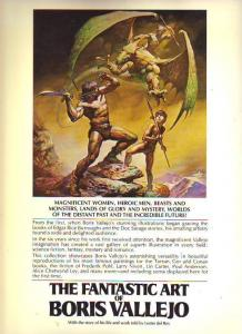The Fantastic Art of Boris Vallejo #1 (Jan-78) NM- High-Grade