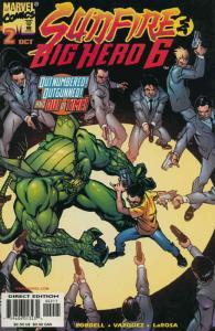Sunfire & Big Hero Six #2 FN; Marvel   save on shipping - details inside