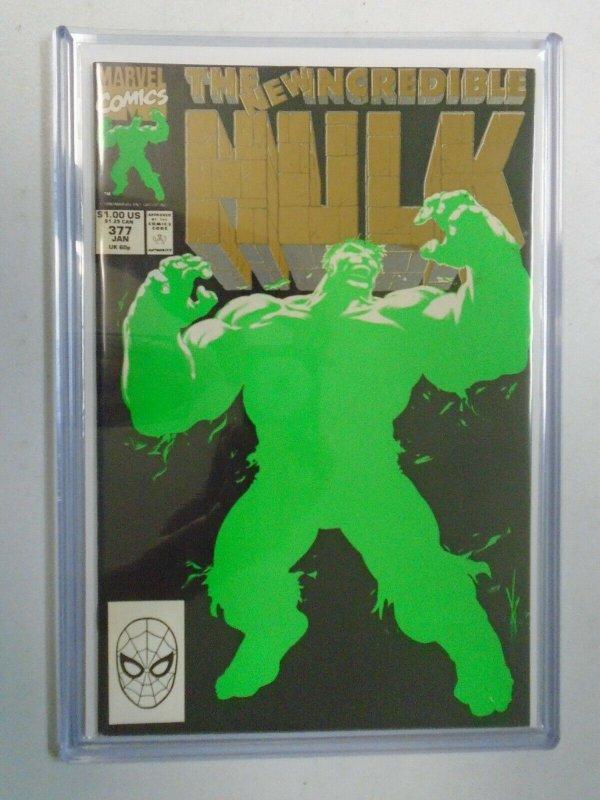 Incredible Hulk #377B 7.0 FN VF (1991 1st Series)