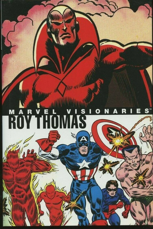 MARVEL VISIONARIES: Roy Thomas (Hardcover, First edition) Brand new with DJ