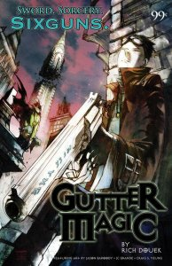 Gutter Magic Preview #1 VF/NM; Sixgun | save on shipping - details inside