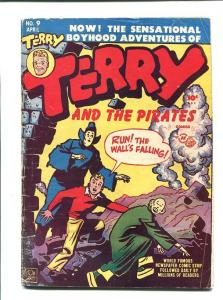 TERRY AND THE PIRATES 9-1948-APRIL-MILTON CANIFF VG