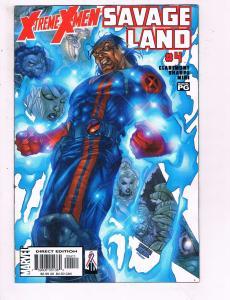 Xtreme X-Men #4 VF Marvel Savage Comic Book Claremont Bishop 2001 DE9