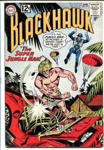 BLACKHAWK #173 1962-Super Jungle Man-12 cent VG+