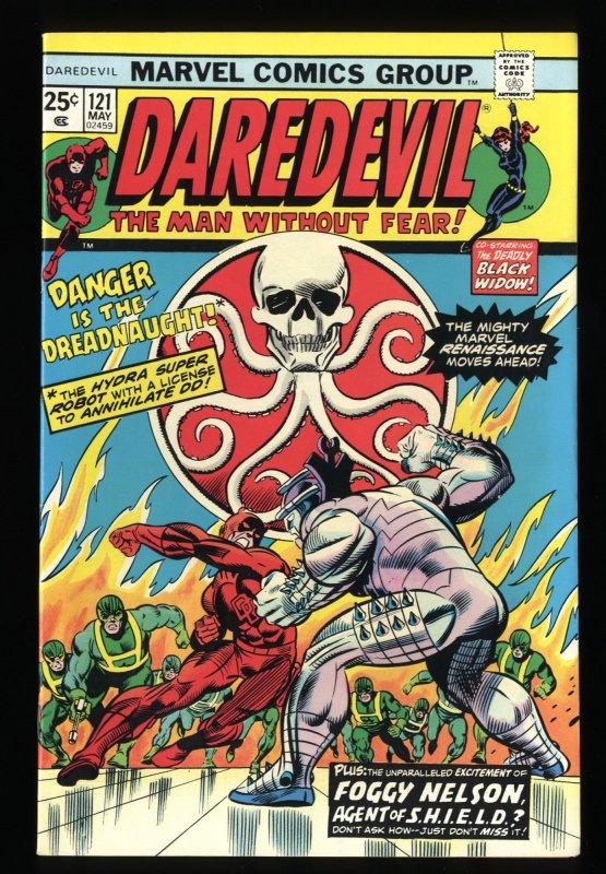 Daredevil #121 NM 9.4 Hydra Black Widow! Marvel Comics