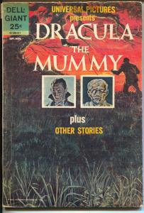 Universal Pictures Presents Dracula vs Mummy # 02-530-311 1963-Dell-1st issue-VG