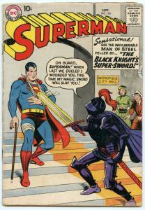 Superman 124 Sep 1958 GD-VG (3.0)