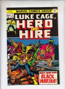 Luke Cage Hero for Hire #5 (Jan-73) NM- High-Grade Luke Cage