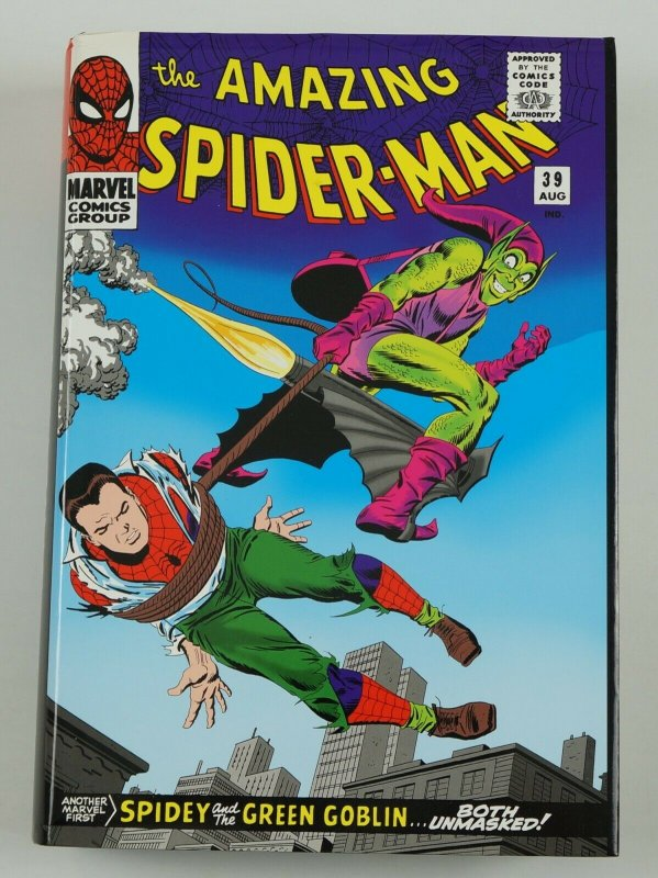 Amazing Spider-Man Omnibus #2 HC VF/NM marvel comics 1st print edition 39-67