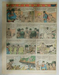 Superman Sunday Page #1048 by Wayne Boring from 11/29/1959 Tabloid Page Size