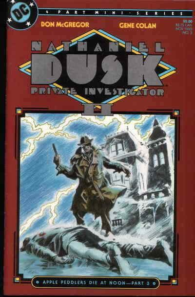 Nathaniel Dusk II #3 VF/NM; DC | save on shipping - details inside