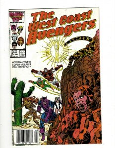 12 The West Coast Avengers Comics #17 18 19 20 23 24 25 42 44 61 Annual #1 2 GB2