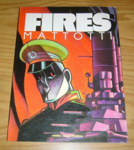 Fires SC VF- catalan communications graphic novel - lorenzo mattotti - 1st print