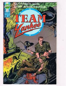 Team Yankee #3 VF First Comics Comic Book Jan 1989 DE40 AD14
