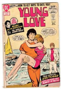 YOUNG LOVE #95-comic book GREAT ISSUE-DC ROMANCE-COOL-SAILING