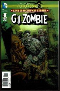 Futures End Star Spangled War Zombie 3-D Cover (2014, DC) 9.6 NM+
