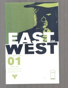 East Of West # 1 NM 1st Print Image Comic Book Jonathan Hickman Dragotta J447