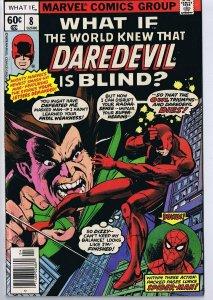 What If #8 ORIGINAL Vintage 1978 Marvel Comics Daredevil Spider-Man The Owl