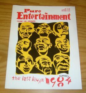 Pure Entertainment #6 FN peter kuper - bob fingerman - look mom comics 1984