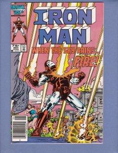 Iron Man #207 FN Marvel 1986