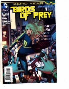 3 DC Comics Birds Of Prey Detective Comics & Nightwing #25 Zero Year Batman J209