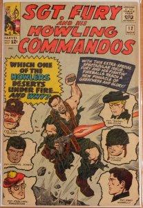 Sgt. Fury #12 (1964) Very Good+ 4.5