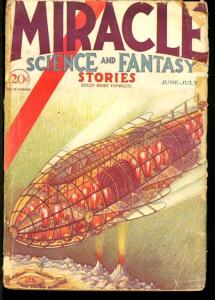 MIRACLE SCIENCE AND FANTASY 1931 JUNE/JULY-#2 G