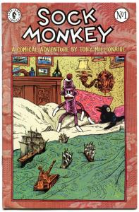 SOCK MONKEY #1, VF/NM, Tony Millionaire, 1998, more Dark Horse in store
