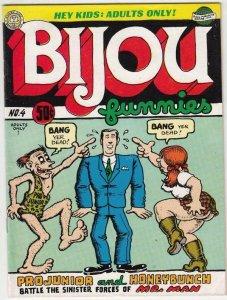 Bijou Funnies  # 4  strict  NM-   artist  R. Crumb