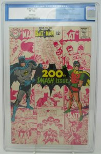 Batman # 200 ~ 1968 DC ~ CGC 8.0 VF ~ 4th Scarecrow Appearance