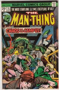 Man-Thing #18 (Jul-75) FN/VF Mid-High-Grade Man-Thing