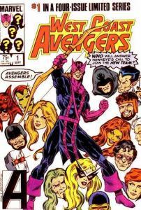 West Coast Avengers (1984 series) #1, NM (Stock photo)