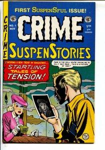 Crime SuspenStories-#1-1992-Russ Cochran-EC reprint