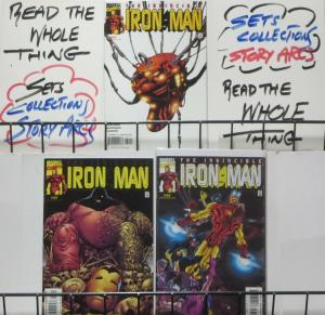 INVINCIBLE IRON MAN (Marvel, 1998) #31-33: The Sons of Yinsan COMPLETE! VF-NM