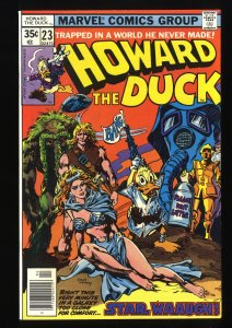 Howard the Duck #23 NM 9.4 Star Wars Parody!