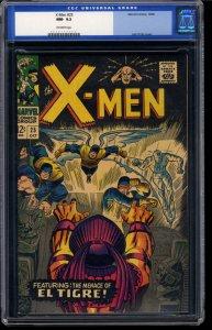 X-Men #25 CGC NM- 9.2 Off White Marvel Comics Old Label!