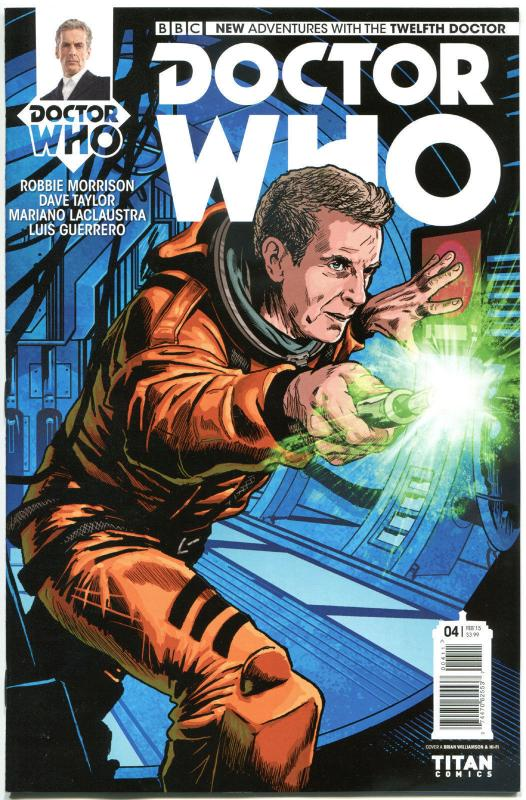 DOCTOR WHO #4 A, VF+, 12th, Tardis, 2014, Titan, 1st, more DW in store, Sci-fi
