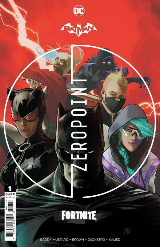 BATMAN FORTNITE ZERO POINT (2021 DC) #1 JANIN COVER A First Print NM with CODE