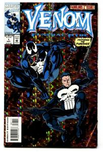 VENOM Funeral Pyre #1-1993-Punisher-Comic book-Marvel