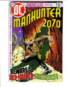 Showcase #93 (Sep-70) VF High-Grade Manhunter 2070