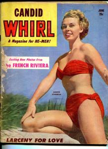 Candid Whirl 6/1953-cheesecake-Junior Standish-Betty Bettie Page-FR/G