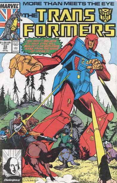 Transformers, The #33 VF/NM; Marvel | save on shipping - details inside
