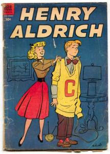 Henry Aldrich #21 1954- Dell Golden Age G